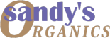 Sandy's all organic body products logo